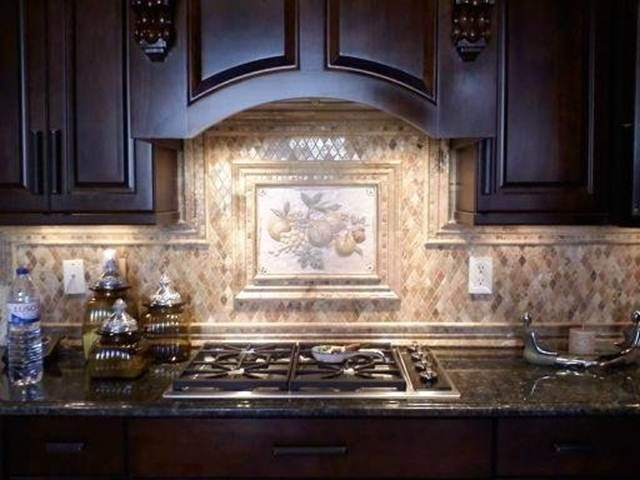 110 best images about our home kitchen ideas on pinterest for Tuscan style kitchen backsplash