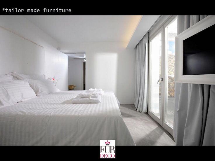 Fur Deco | interior tailor made furniture  #bed #bedroom #furdeco #tailormade #interiors #decoration