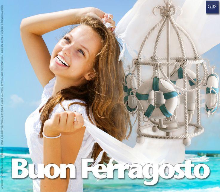 Lanterna Navy. Ferro battuto e decorato a mano, collezione mare di GBS. MADE IN ITALY Design: Gianni Cresci & Renee Danzer