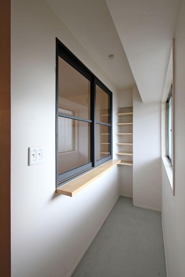 WINDOW/窓/玄関/土間/モルタル/フィールドガレージ/FieldGarage INC./リノベーション