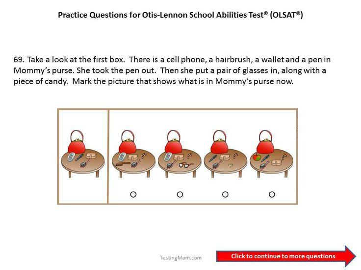 104 best images about OLSAT® Test (Otis-Lennon School Ability Test ...