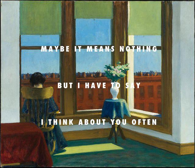 Pin By Jocelyn B On C Llywelyn Edward Hopper Lyrics Music