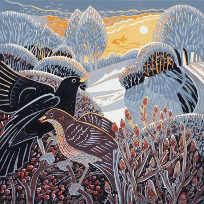 Winter glow by Annie Soudain