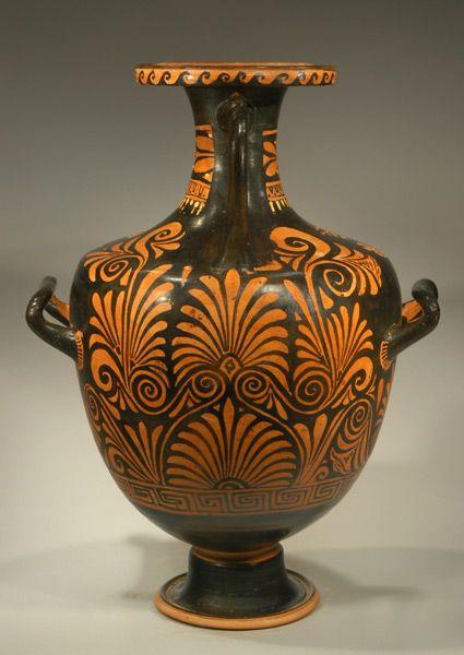 greek vase designs compound greek vase palmettes. Black Bedroom Furniture Sets. Home Design Ideas