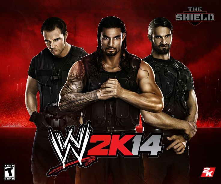 the shield wwe 2k14 game images  | WWE 2K14 THE SHIELD WALLPAPER by AHD-GFX