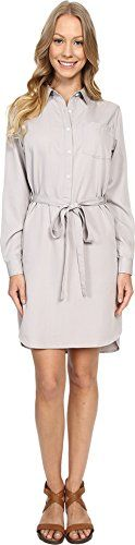 United By Blue Women's Banbury Tencel Dress Grey Dress ** Want to know more, visit