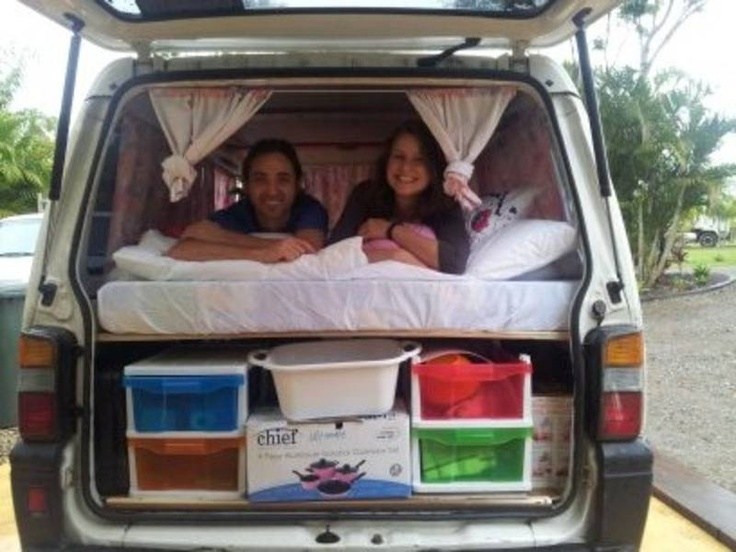 Best Tramp Images On Pinterest Truck Camping Van Camping