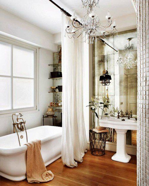 Awesome Websites  Adorable Shabby Chic Bathroom Ideas