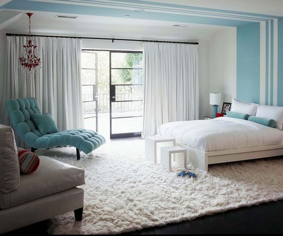 """sneaky idea: paint white """"french door"""" lines on sliding glass doors. or even just add the white wood on the inside!"""