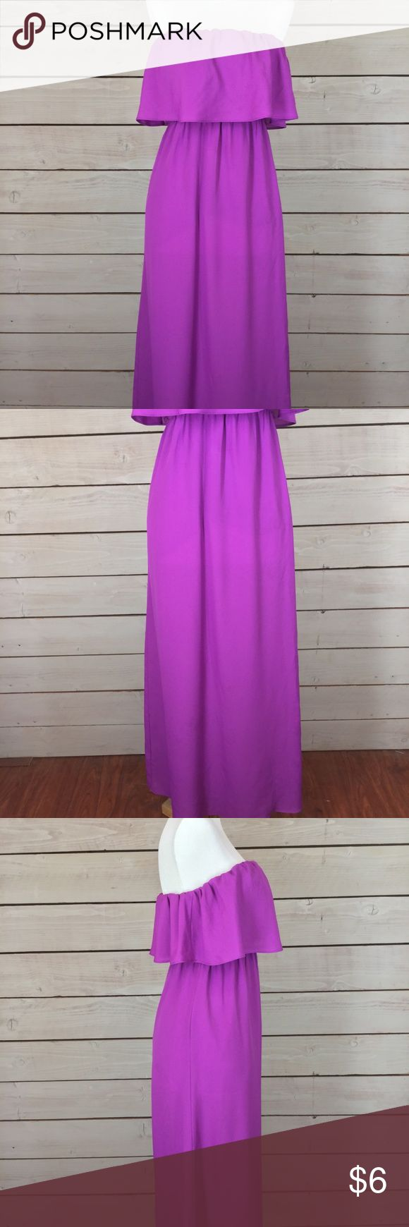 Forever 21 Purple Strapless Tube Maxi Dress Forever 21 Purple Strapless Tube Maxi Dress Size Small. $6 Young Professionals Club – Bundle any of my $6 listings for an unbeatable discount. I have handpicked office wear in excellent condition to build or expand your career wardrobe at an affordable price. Browse my listings and find a few items that you can use for work, school or interviews and I will give you a great deal with 1 shipping cost! Forever 21 Dresses Maxi