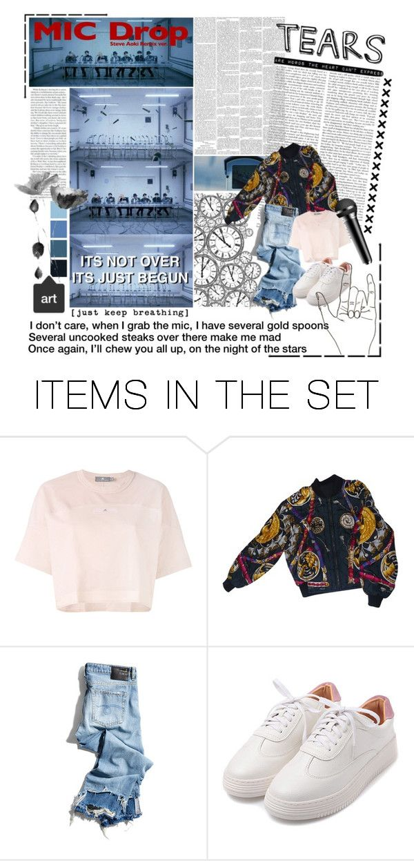 """""""BTS - Mic Drop"""" by shook-squad on Polyvore featuring art"""