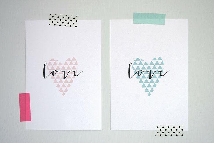 Bluebells Design: Love cards
