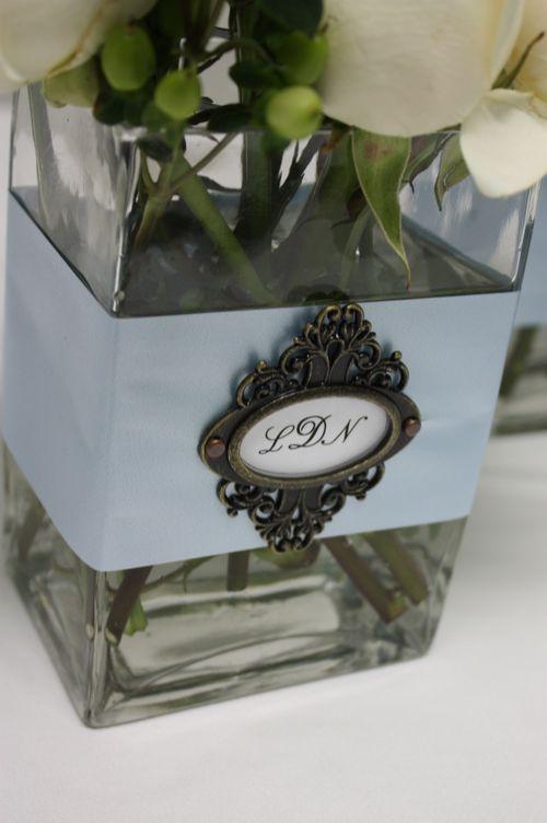 155 Best Images About Embellished Amp Monogrammed Vases On