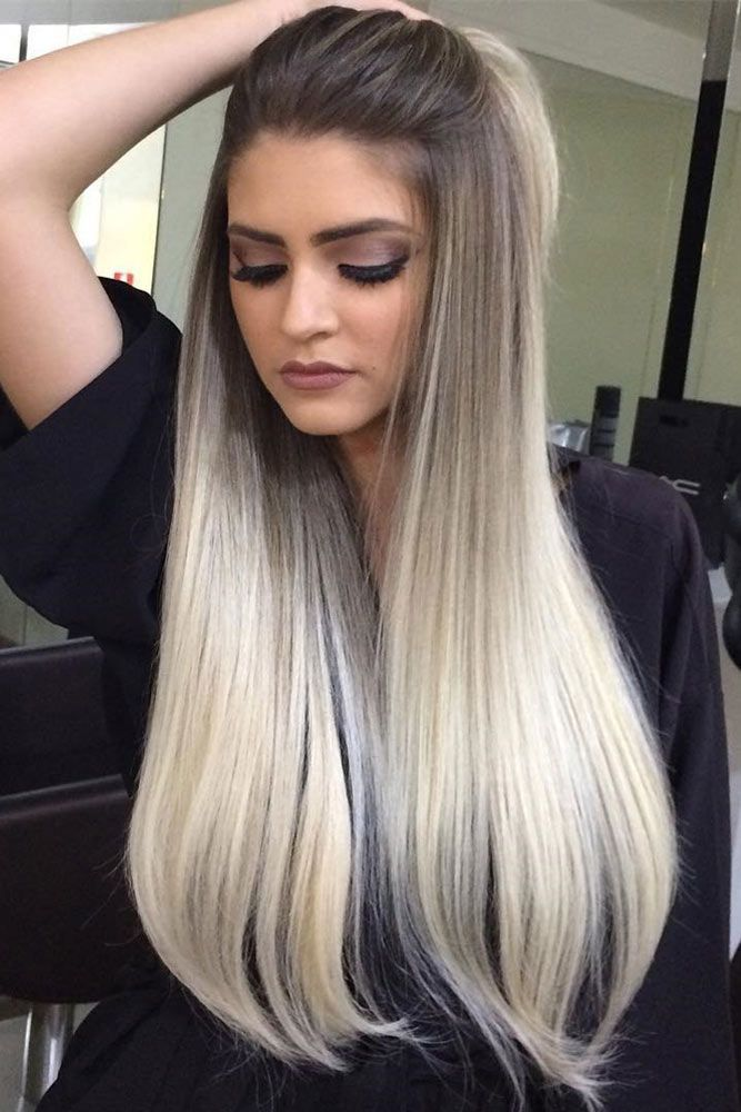 Hairstyle Designs For Long Hair and trendy hair color