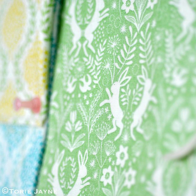 Pretty Colourful Easter Inspiration | Torie Jayne Fabric from @elephantbag