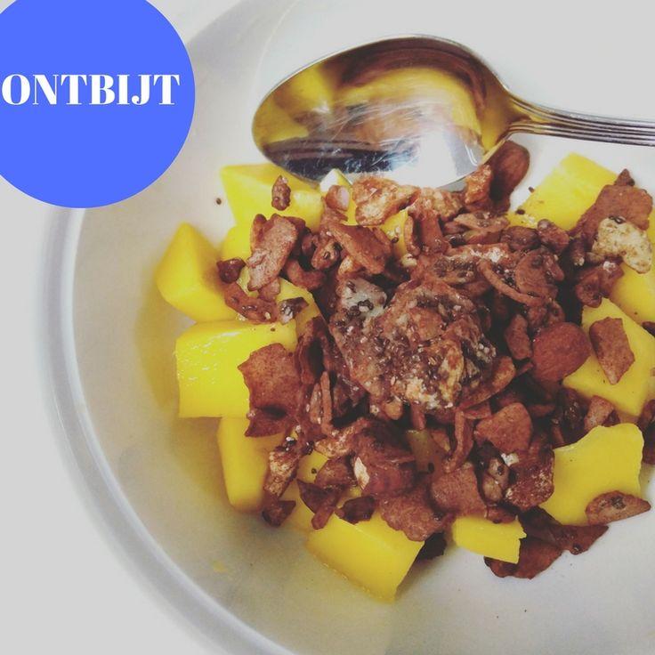 PALEO VERWENONTBIJT    Er is misschien een tijd geweest dat je elke dag een bruine boterham met kaas at. WaarEvan je nooit had verwacht dat je hier afscheid van zou kunnen nemen. Ons favoriet op dit moment is toch wel deze heerlijke mango met chocolade muesli van Eat Performance!