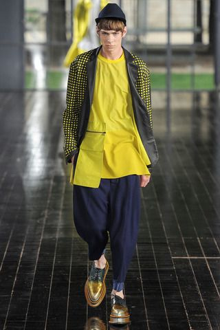 John Galliano Spring 2014 Menswear Collection on Style.com: Runway Review