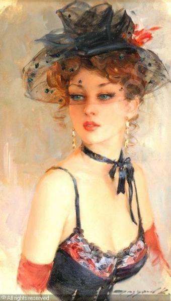 "RAZUMOV Konstantin, *1974 (Russia)  Title : ""Paris beauty"""