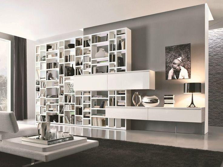 CROSSING Libreria by MisuraEmme design Mauro Lipparini, CRS MisuraEmme