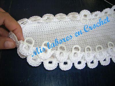 Mis labores en Crochet: bolsas con lacres