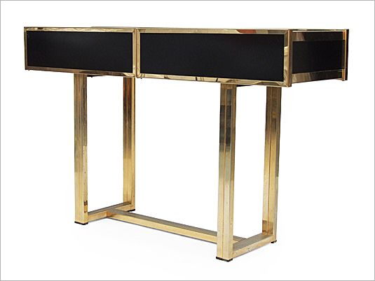 1970's Rizzo Cocktail console table by Cidue, Italy.