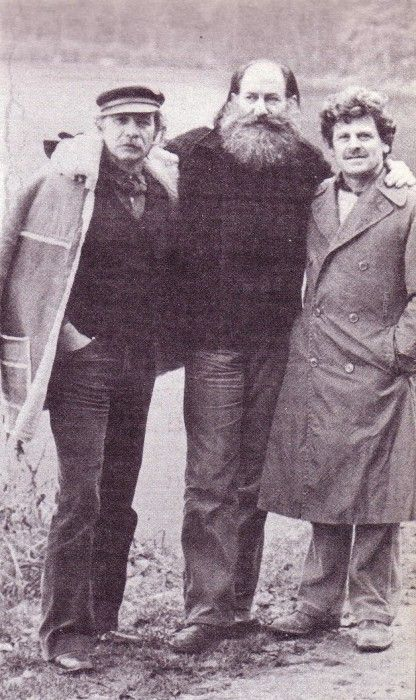Οι Χρίστος Καράς, Ηλίας Πετρόπουλος και Κώστας Τσόκλης στο δάσος του Σαντιγύ…