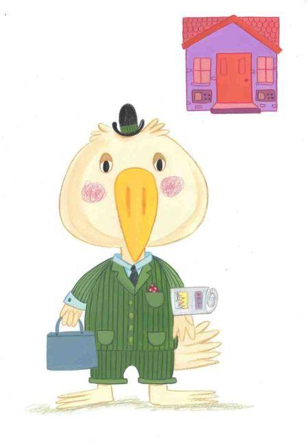 Kay Widdowson - Town Book Bird Bank Clerk