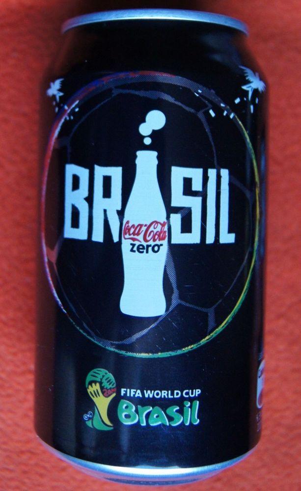 Chile 2014 Can Coca Cola Zero Limited Edition World Cup Soccer FIFA Brazil    eBay