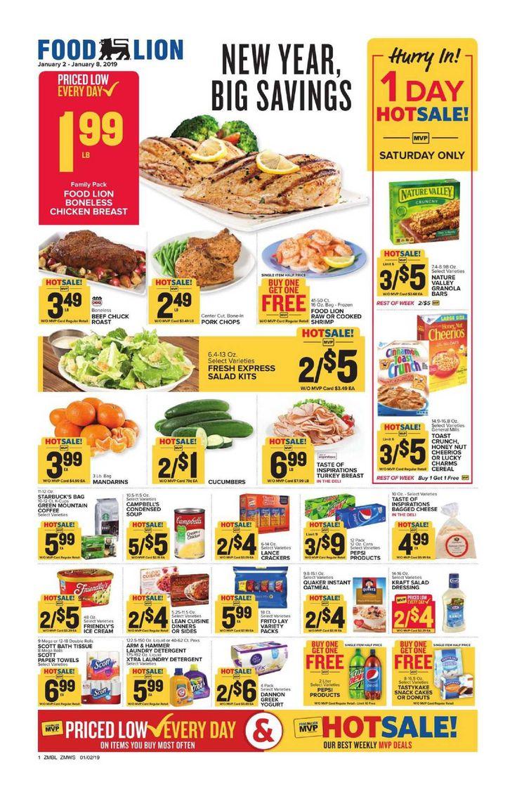 Food lion weekly ad flyer feb 26 mar 03 2020