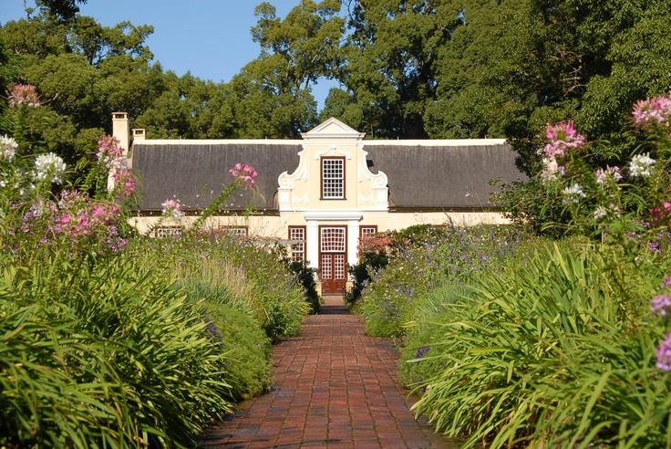 Vergelegen Manor House and gardens