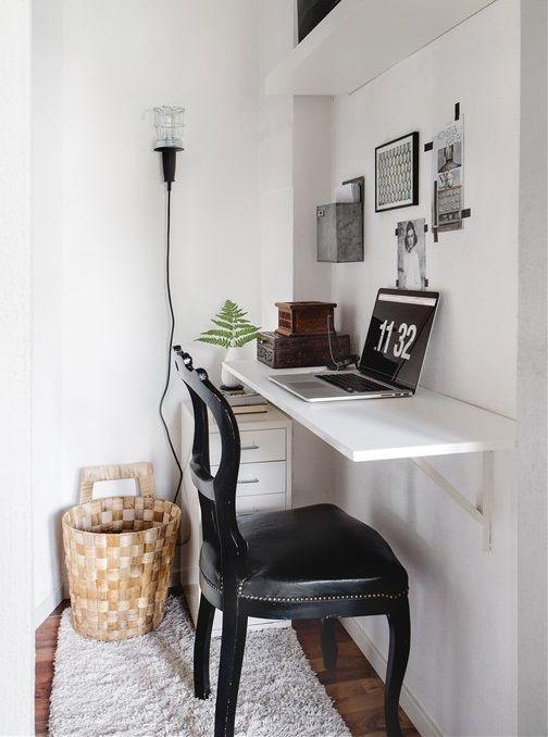 Nook Style Corner Home Office Workspace