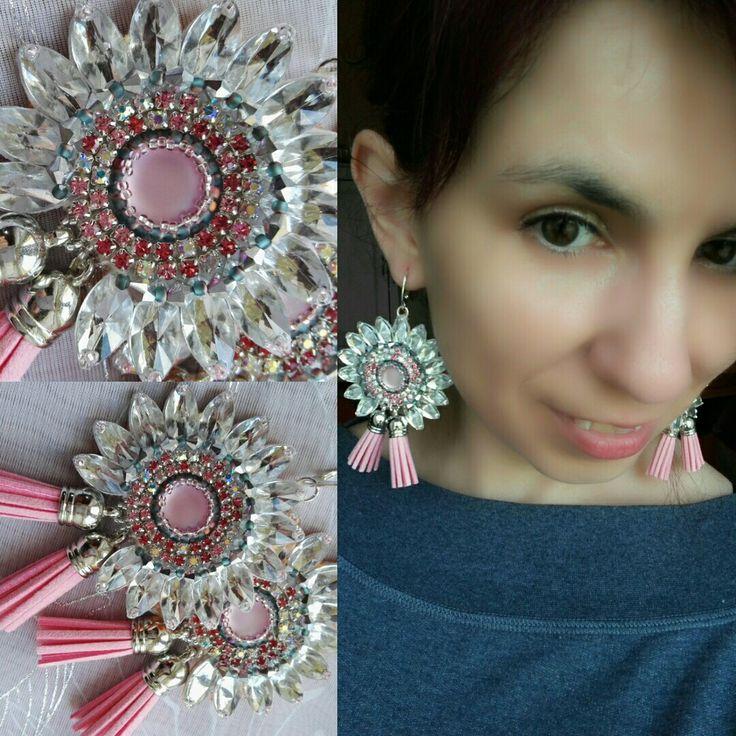 Charlotte -handmade earrings