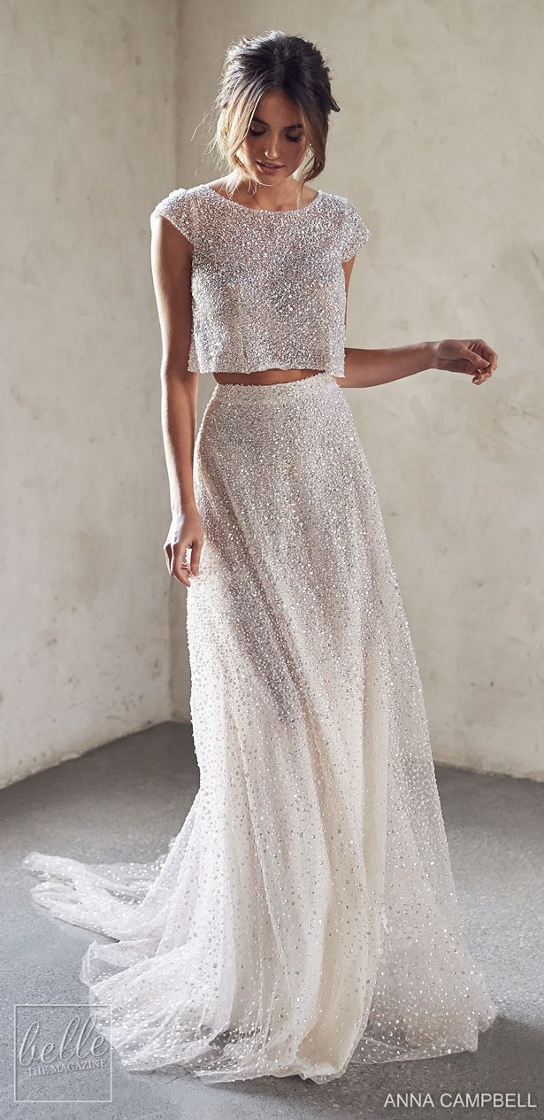 Anna Campbell Wedding Dresses 2020 Belle The Magazine Anna Campbell Wedding Dress Designer Wedding Dresses Anna Campbell Wedding