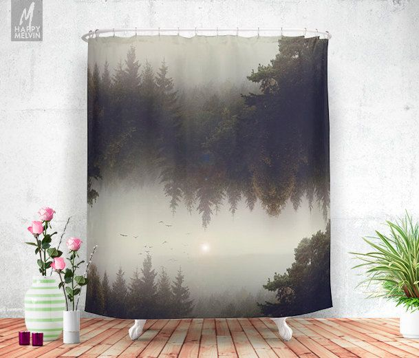Forest dreams Shower curtain Bathroom Home by HappyMelvin