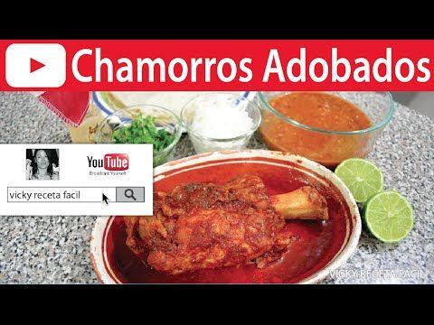 CHAMORROS EN ADOBO | Vicky Receta Facil - YouTube