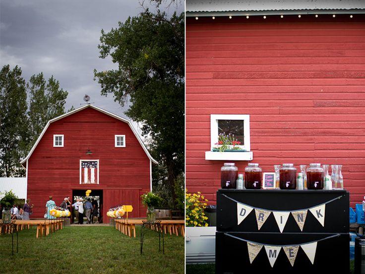 Osborn Farm Barn Loveland Colorado Rustic Wedding VenuesWedding