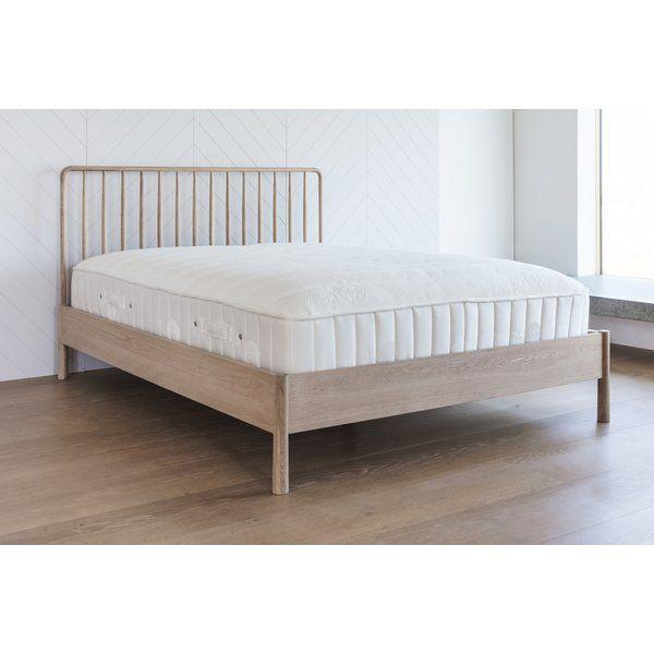 Emrich Bed Frame Oak Bed Frame Oak Beds King Size Bed Frame