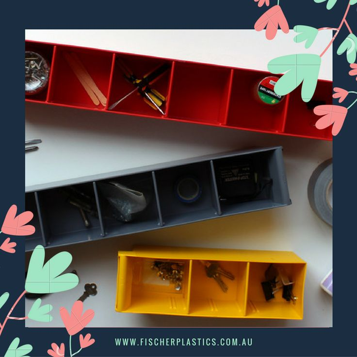 Our Spare Parts Trays have removable dividers to suit your storage needs and are the only Spare Parts Trays on the market that come in 5 colours, matching the Fischer Stor-Pak Bin colour range.