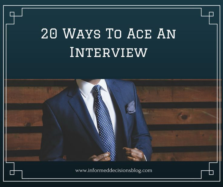 20 Ways To Ace An Interview With Images Emotional Skills