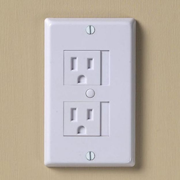 Outlet Protectors | 30 Unexpected Baby Shower Gifts That Are Sheer Genius