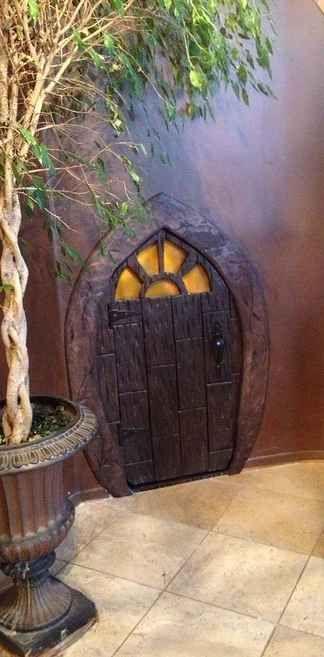 Hobbit hole storage closet. 21 DIY Ways To Make Your Child's Bedroom Magical