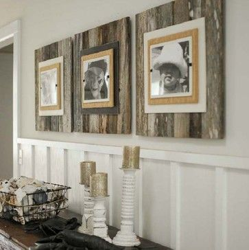 Reclaimed Wood Frame - Large eclectic frames