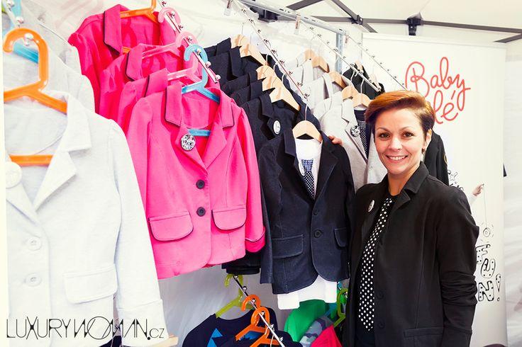 Kristina se svoji značkou Baby Olé, která navrhuje fantastické oblečení především pro děti.