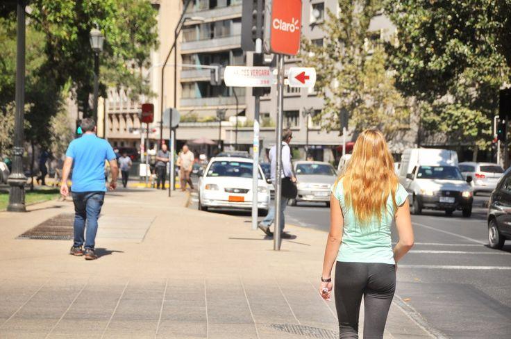 Walking Santiago