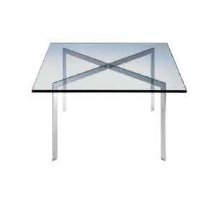 Vintage barcelona coffee table by mies van der rohe for knoll vintage coff - Knoll barcelona table ...