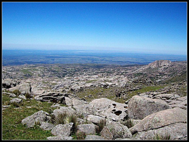 Regreso de la cumbre del Champaquí. Córdoba