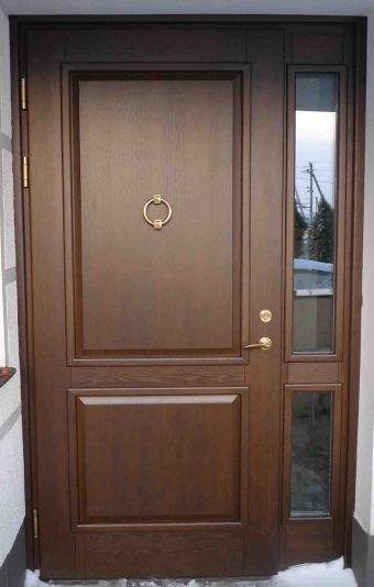Solid oak external doors, Solid oak front door  http://www.cerberusdoors.co.uk
