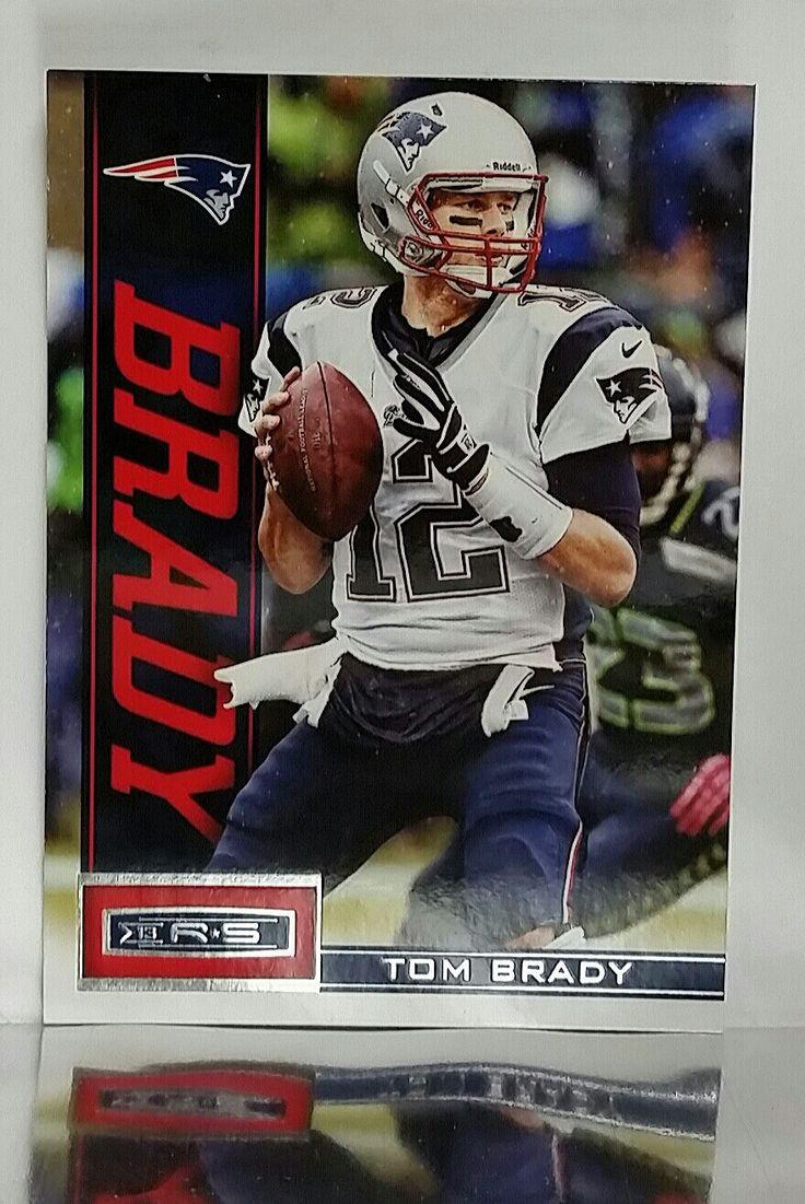 2013 Panini Rookies and Stars (R & S) # 59 Tom Brady, QB, New England Patriots, 3x Super Bowl MVP, MINT