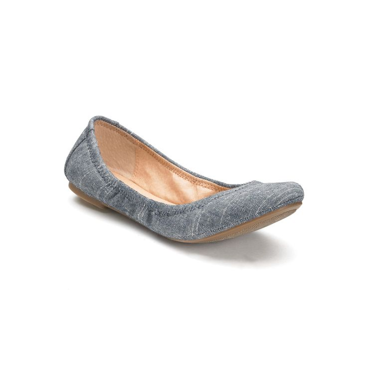 SONOMA Goods for Life™ Women's Ballet Flats, Size: 8.5, Light Blue