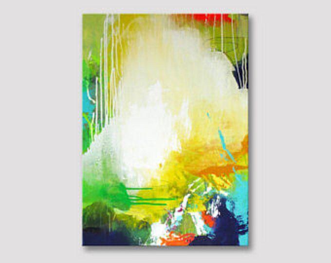 Titel: tropische    Original Kunst Acrylbild auf Leinwand.    +++++++++++++++++++++++++++++++++++++++++++++    GESPANNT AUF HOLZRAHMEN & READY TO HANG    +++++++++++++++++++++++++++++++++++++++++++++    Größe: 50 x 50 cm (20 Zoll x 20 Zoll), ist die Leinwand 0,7 Zoll tief.    An die Oberfläche, das Gemälde vor UV-Licht, Feuchtigkeit und Staub zu schützen wurde eine klare glänzende Beschichtung angewendet.  Heftklammern sind auf der Rückseite und die Kanten sind mit einer koordinierenden F...